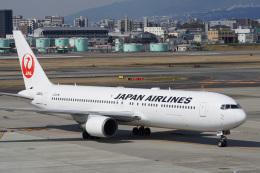 神宮寺ももさんが、伊丹空港で撮影した日本航空 767-346/ERの航空フォト(飛行機 写真・画像)