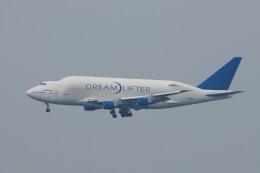 TAOTAOさんが、中部国際空港で撮影したボーイング 747-4J6(LCF) Dreamlifterの航空フォト(飛行機 写真・画像)