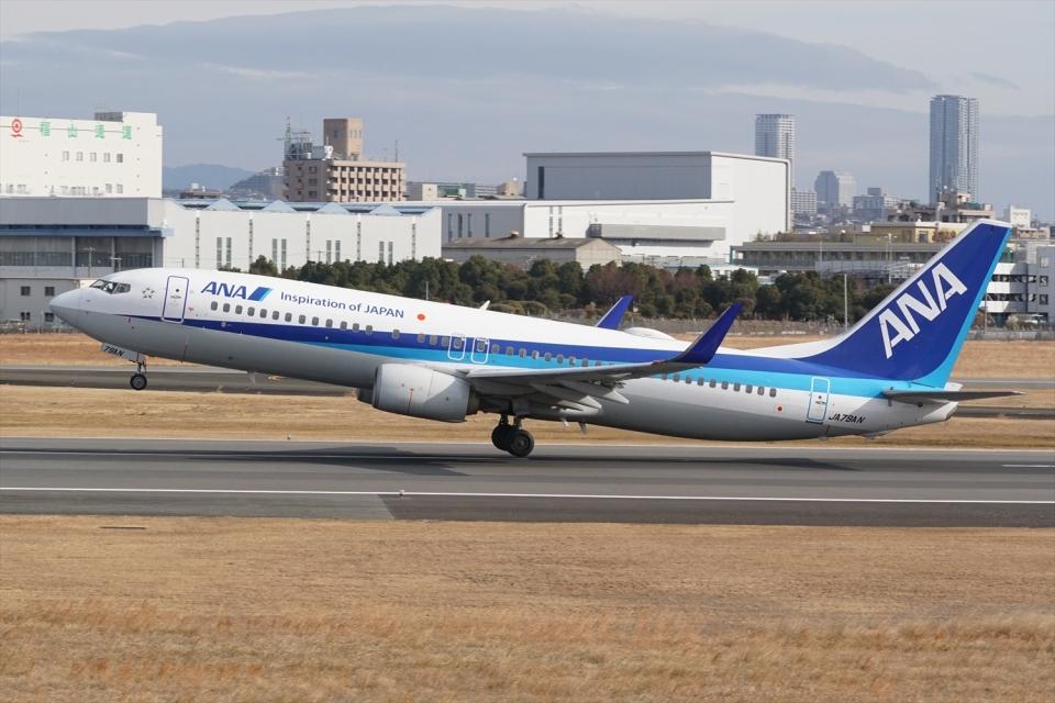 HEATHROWさんの全日空 Boeing 737-800 (JA79AN) 航空フォト