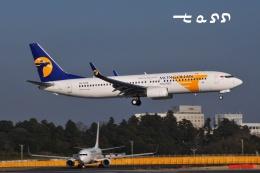 tassさんが、成田国際空港で撮影したMIATモンゴル航空 737-8SHの航空フォト(飛行機 写真・画像)