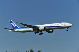 ポン太さんが、成田国際空港で撮影した全日空 777-381/ERの航空フォト(飛行機 写真・画像)