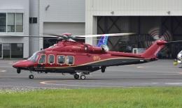 Soraya_Projectさんが、東京ヘリポートで撮影した日本法人所有 AW139の航空フォト(飛行機 写真・画像)