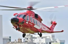 Soraya_Projectさんが、東京ヘリポートで撮影した東京消防庁航空隊 AW189の航空フォト(飛行機 写真・画像)