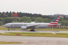 クロマティさんが、成田国際空港で撮影したアメリカン航空 777-223/ERの航空フォト(飛行機 写真・画像)