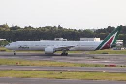 クロマティさんが、成田国際空港で撮影したアリタリア航空 777-3Q8/ERの航空フォト(飛行機 写真・画像)