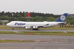 クロマティさんが、成田国際空港で撮影したポーラーエアカーゴ 747-46NF/SCDの航空フォト(飛行機 写真・画像)