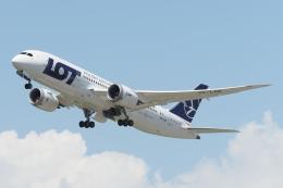 木人さんが、成田国際空港で撮影したLOTポーランド航空 787-8 Dreamlinerの航空フォト(飛行機 写真・画像)