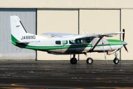 A-Chanさんが、調布飛行場で撮影した共立航空撮影 208 Caravan Iの航空フォト(飛行機 写真・画像)