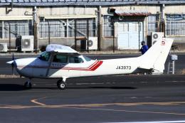 A-Chanさんが、調布飛行場で撮影した東京航空 172P Skyhawkの航空フォト(飛行機 写真・画像)