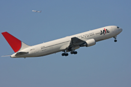 tsubameさんが、中部国際空港で撮影した日本航空 767-346/ERの航空フォト(飛行機 写真・画像)