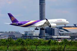まいけるさんが、スワンナプーム国際空港で撮影したタイ国際航空 A350-941の航空フォト(飛行機 写真・画像)