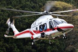 ミルハスさんが、国内某所で撮影した東北エアサービス AW169の航空フォト(飛行機 写真・画像)