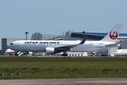 ぎんじろーさんが、成田国際空港で撮影した日本航空 767-346/ERの航空フォト(飛行機 写真・画像)