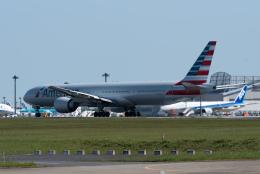 ぎんじろーさんが、成田国際空港で撮影したアメリカン航空 777-323/ERの航空フォト(飛行機 写真・画像)