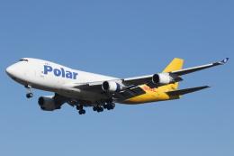プルシアンブルーさんが、成田国際空港で撮影したポーラーエアカーゴ 747-46NF/SCDの航空フォト(飛行機 写真・画像)