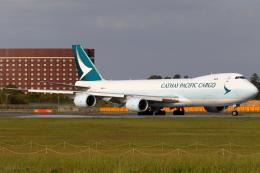 こだしさんが、成田国際空港で撮影したキャセイパシフィック航空 747-867F/SCDの航空フォト(飛行機 写真・画像)