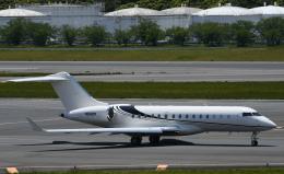 チャーリーマイクさんが、成田国際空港で撮影したウィルミントン・トラスト・カンパニー BD-700-1A10 Global Expressの航空フォト(飛行機 写真・画像)