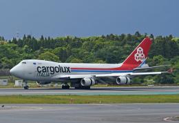 チャーリーマイクさんが、成田国際空港で撮影したカーゴルクス・イタリア 747-4R7F/SCDの航空フォト(飛行機 写真・画像)