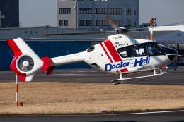 (新)ふぁんとむ改さんが、東京ヘリポートで撮影した東邦航空 EC135T2の航空フォト(飛行機 写真・画像)