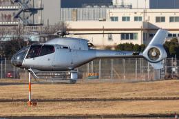 (新)ふぁんとむ改さんが、東京ヘリポートで撮影した日本法人所有 EC120B Colibriの航空フォト(飛行機 写真・画像)