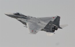 こびとさんさんが、茨城空港で撮影した航空自衛隊 F-15J Eagleの航空フォト(飛行機 写真・画像)