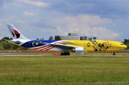 みるぽんたさんが、成田国際空港で撮影したマレーシア航空 A330-323Xの航空フォト(飛行機 写真・画像)