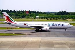 SFJ_capさんが、成田国際空港で撮影したスリランカ航空 A330-343Xの航空フォト(飛行機 写真・画像)