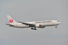 ポン太さんが、羽田空港で撮影した日本航空 767-346の航空フォト(飛行機 写真・画像)