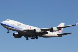 プルシアンブルーさんが、成田国際空港で撮影したチャイナエアライン 747-409F/SCDの航空フォト(飛行機 写真・画像)