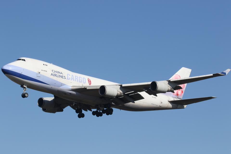 プルシアンブルーさんのチャイナエアライン Boeing 747-400 (B-18720) 航空フォト