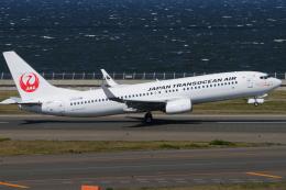 きんめいさんが、中部国際空港で撮影した日本トランスオーシャン航空 737-8Q3の航空フォト(飛行機 写真・画像)