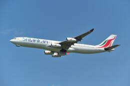 ポン太さんが、成田国際空港で撮影したスリランカ航空 A340-313Xの航空フォト(飛行機 写真・画像)