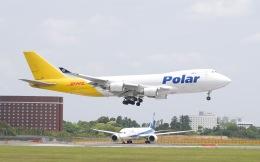 goshiさんが、成田国際空港で撮影したポーラーエアカーゴ 747-46NF/SCDの航空フォト(飛行機 写真・画像)