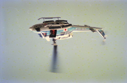 senbaさんが、東京都大島町・元町港上空で撮影した海上保安庁 212の航空フォト(飛行機 写真・画像)