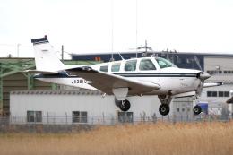 やまけんさんが、仙台空港で撮影した日本個人所有 A36 Bonanza 36の航空フォト(飛行機 写真・画像)