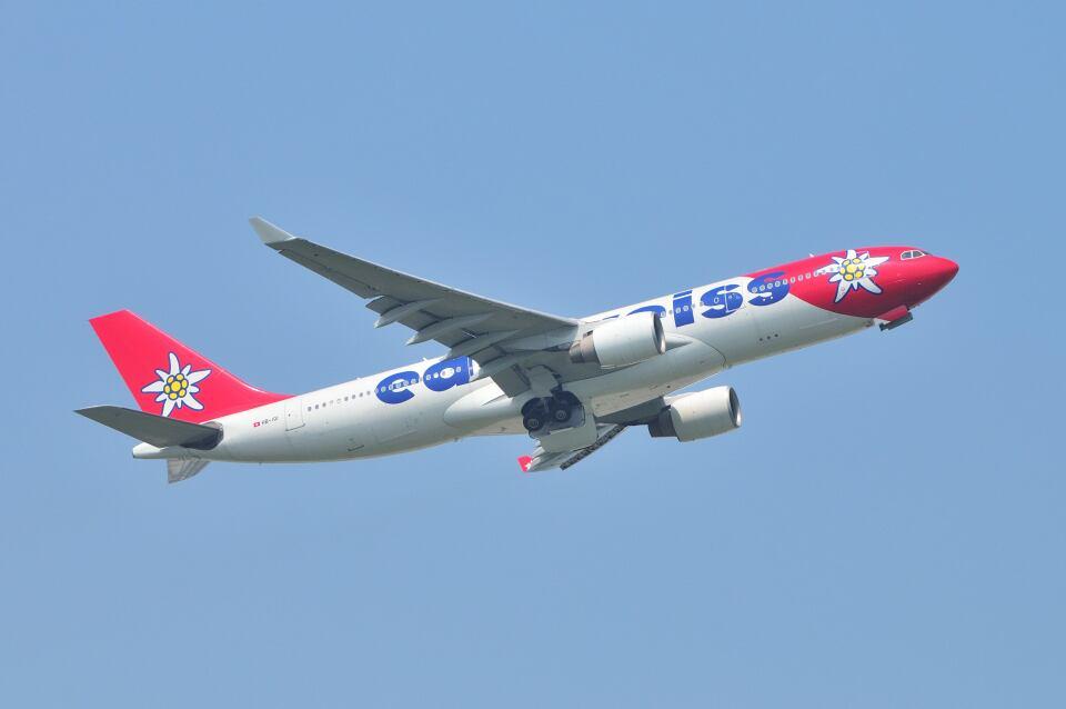 ポン太さんのエーデルワイス航空 Airbus A330-200 (HB-IQI) 航空フォト