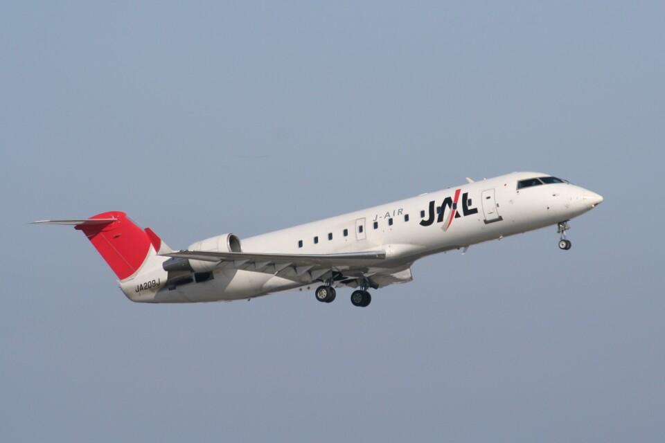 NIKEさんのジェイエア Bombardier CRJ-200 (JA209J) 航空フォト