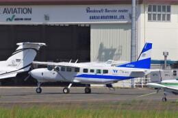 mild lifeさんが、八尾空港で撮影した第一航空 208B Grand Caravanの航空フォト(飛行機 写真・画像)