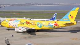 新城 JAL alpha rainbowさんが、羽田空港で撮影した全日空 747-481(D)の航空フォト(飛行機 写真・画像)