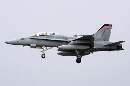Flankerさんが、厚木飛行場で撮影したアメリカ海兵隊 F/A-18D Hornetの航空フォト(飛行機 写真・画像)