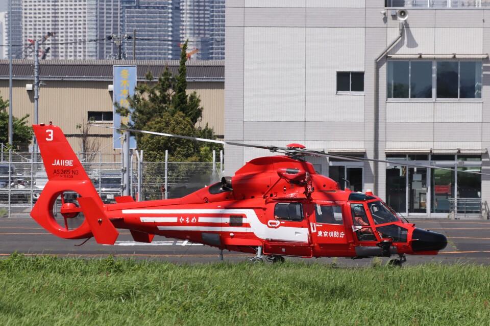 KAZFLYERさんの東京消防庁航空隊 Eurocopter AS365/565 Dauphin 2/Panther (JA119E) 航空フォト