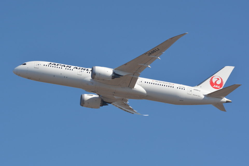 Deepさんの日本航空 Boeing 787-9 (JA861J) 航空フォト