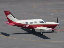 F.YUKIHIDEさんが、岡南飛行場で撮影した日本法人所有 PA-46-350P Malibu Mirageの航空フォト(飛行機 写真・画像)