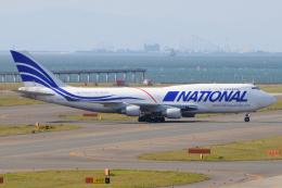きんめいさんが、中部国際空港で撮影したナショナル・エアラインズ 747-412(BCF)の航空フォト(飛行機 写真・画像)