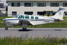 A.Tさんが、八尾空港で撮影したエアロスペースナガノ A36 Bonanza 36の航空フォト(飛行機 写真・画像)