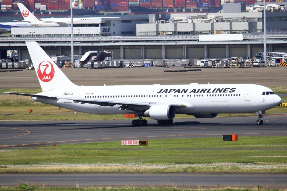 ちゅういちさんの日本航空 Boeing 767-300 (JA602J) 航空フォト