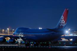 SGR RT 改さんが、成田国際空港で撮影したカーゴルクス・イタリア 747-4R7F/SCDの航空フォト(飛行機 写真・画像)