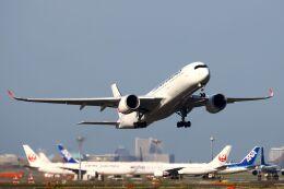 hiroki_h2さんが、羽田空港で撮影した日本航空 A350-941の航空フォト(飛行機 写真・画像)