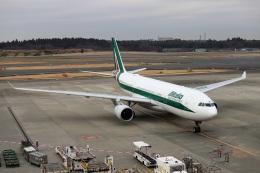 kan787allさんが、成田国際空港で撮影したアリタリア航空 A330-202の航空フォト(飛行機 写真・画像)