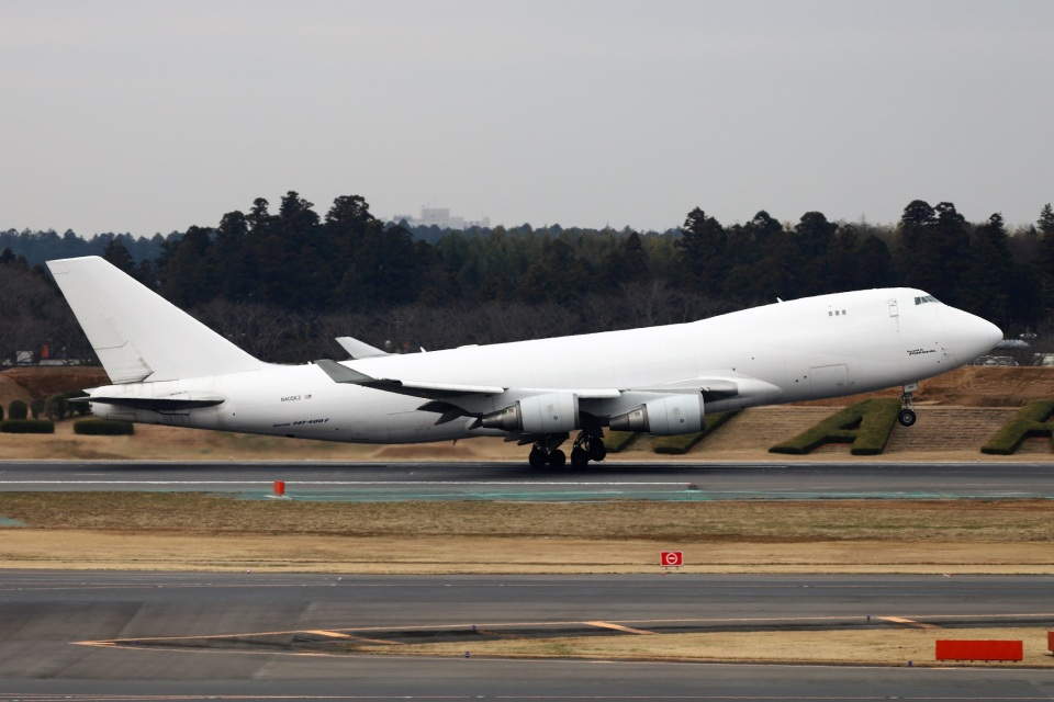 kan787allさんのアトラス航空 Boeing 747-400 (N405KZ) 航空フォト